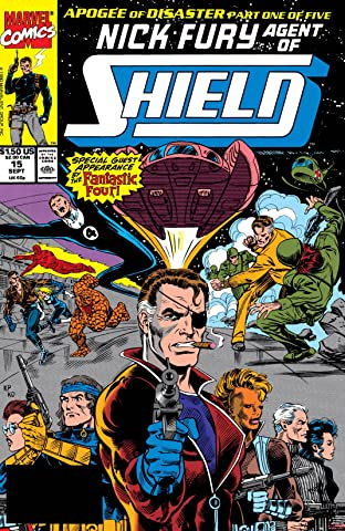 Nick Fury, Agent of S.H.I.E.L.D. (1989-1992) No.15
