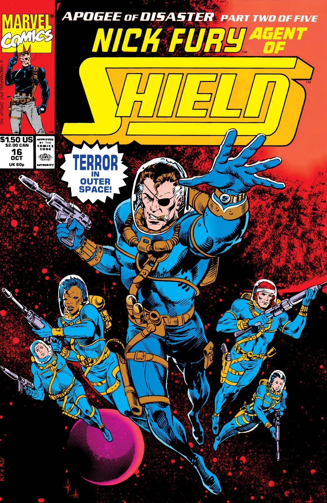 Nick Fury, Agent of S.H.I.E.L.D. (1989-1992) #16