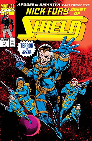 Nick Fury, Agent of S.H.I.E.L.D. (1989-1992) No.16