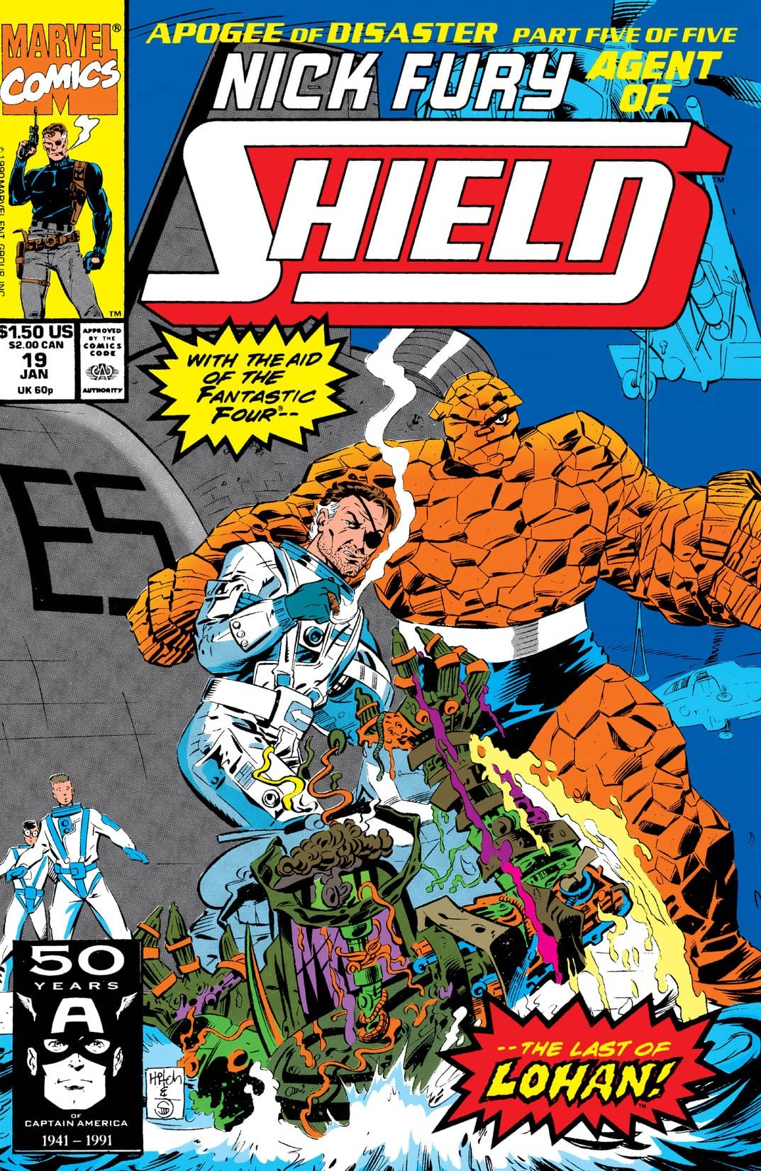 Nick Fury, Agent of S.H.I.E.L.D. (1989-1992) #19