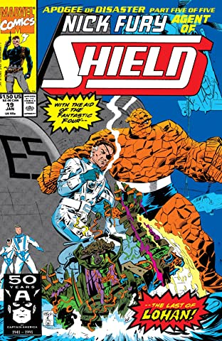 Nick Fury, Agent of S.H.I.E.L.D. (1989-1992) No.19