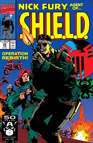 Nick Fury, Agent of S.H.I.E.L.D. (1989-1992) No.20