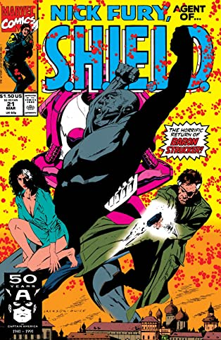 Nick Fury, Agent of S.H.I.E.L.D. (1989-1992) #21