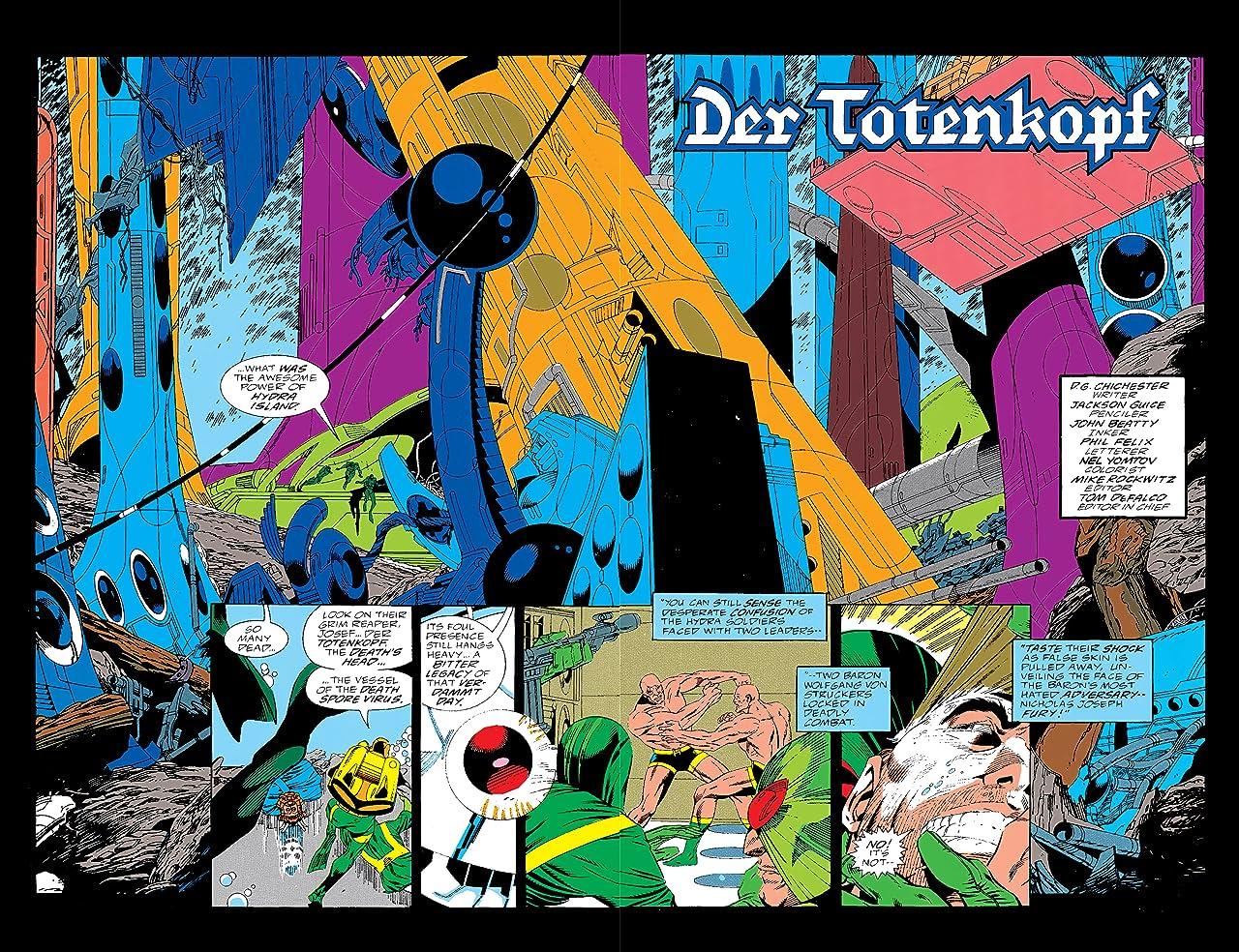 Nick Fury, Agent of S.H.I.E.L.D. (1989-1992) #21