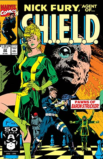 Nick Fury, Agent of S.H.I.E.L.D. (1989-1992) #22