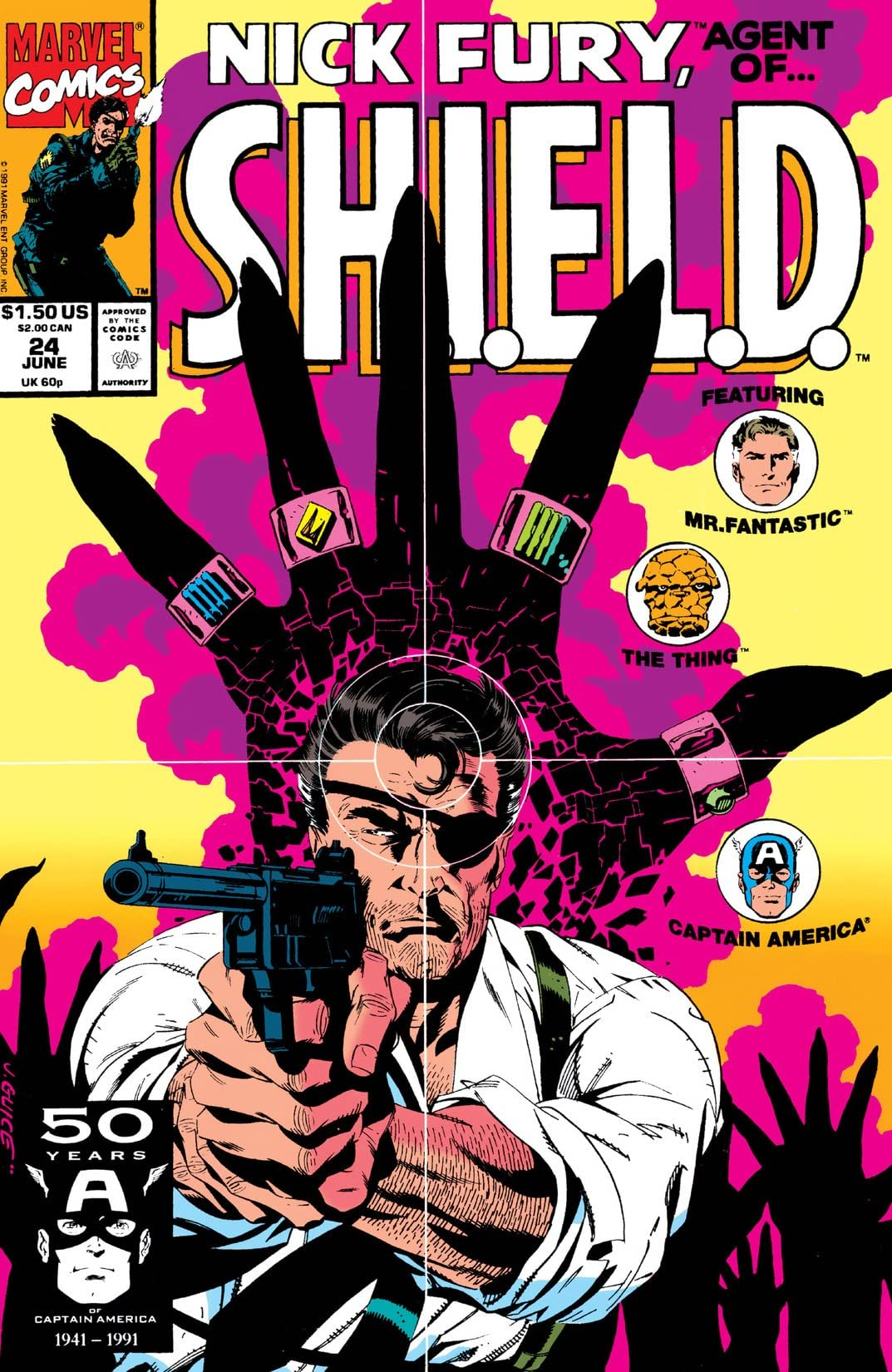 Nick Fury, Agent of S.H.I.E.L.D. (1989-1992) #24
