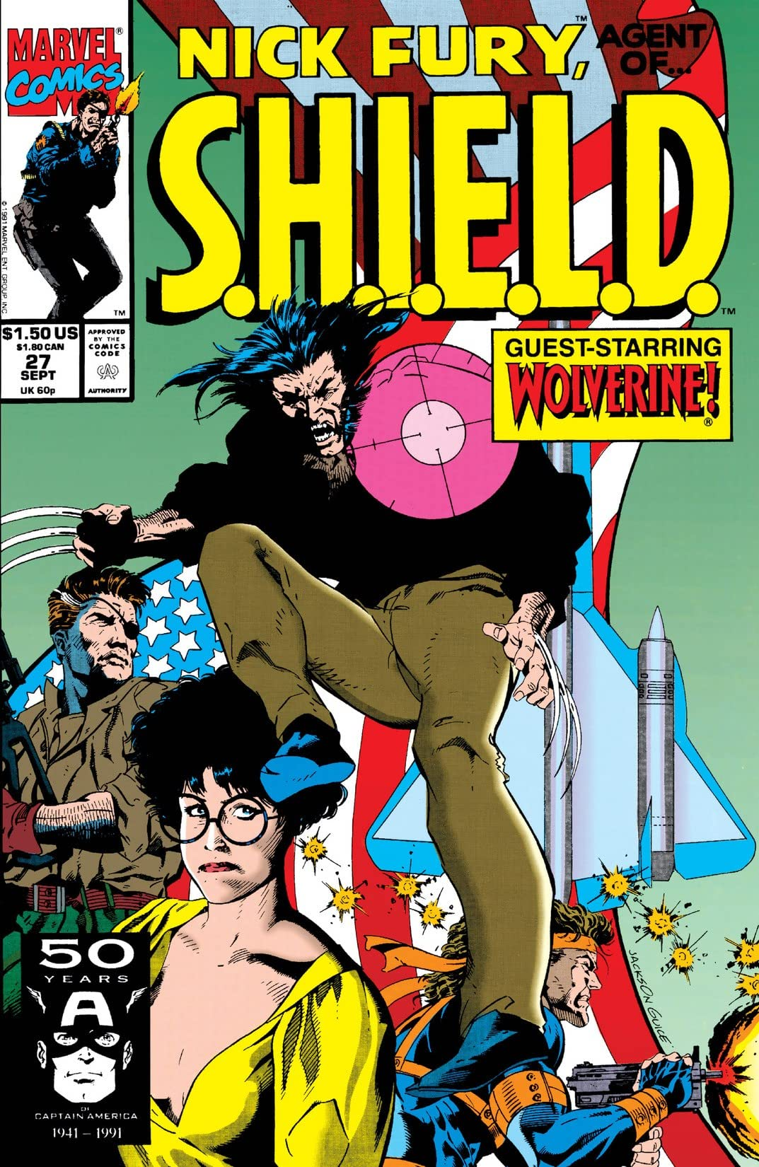 Nick Fury, Agent of S.H.I.E.L.D. (1989-1992) #27