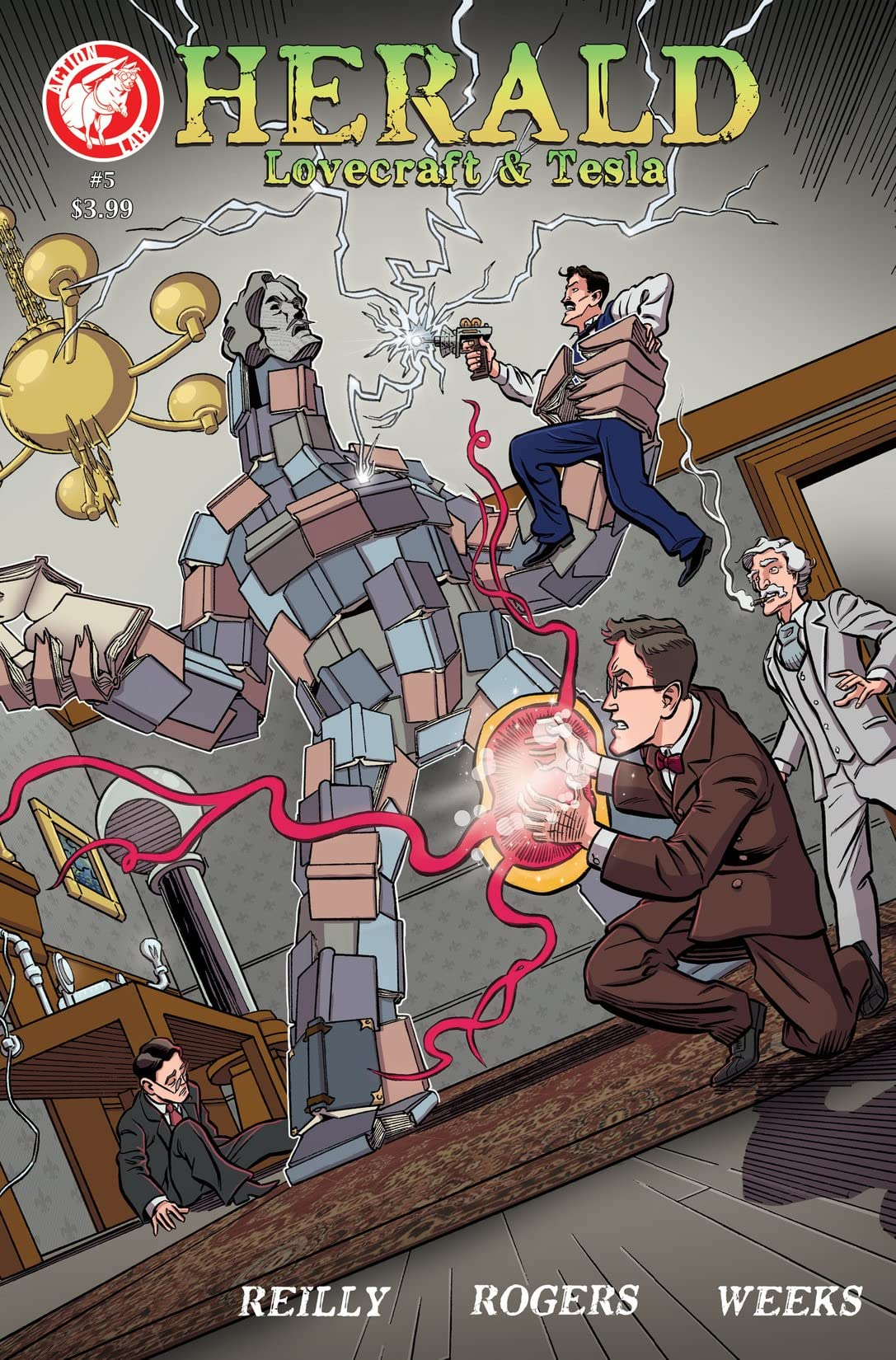 Herald: Lovecraft & Tesla #5