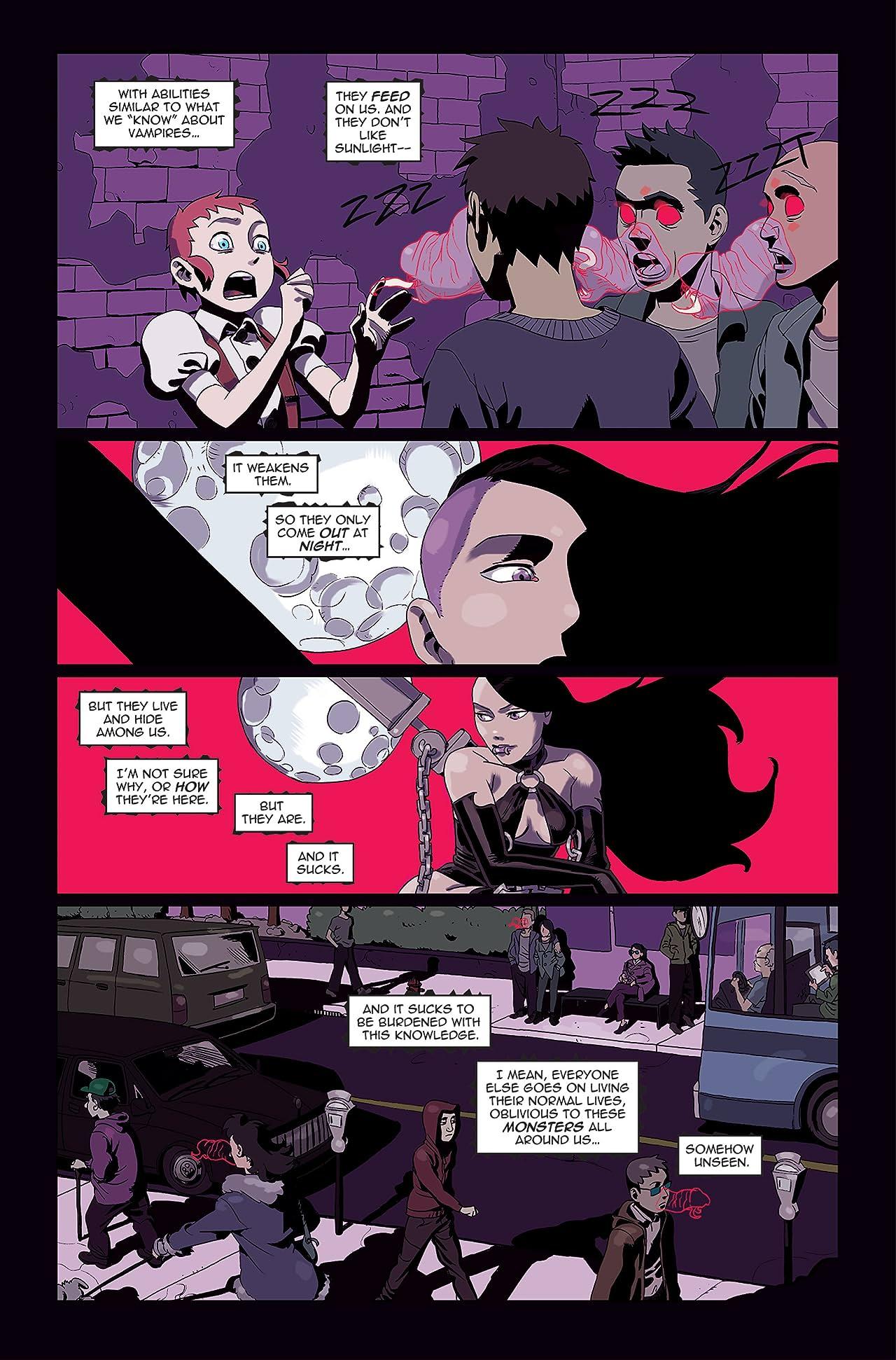 Zombie Tramp vs. Vampblade #1