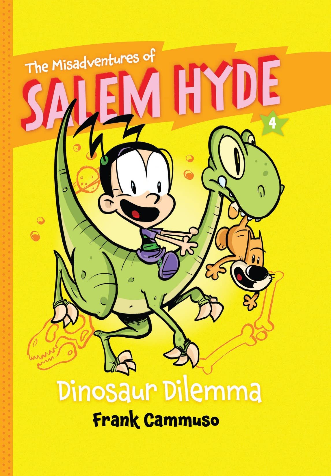 The Misadventures of Salem Hyde: Book Four - Dinosaur Dilemma