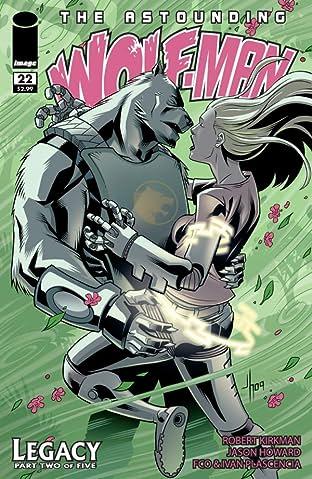 The Astounding Wolf-Man #22