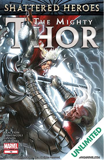 The Mighty Thor (2011-2012) #12