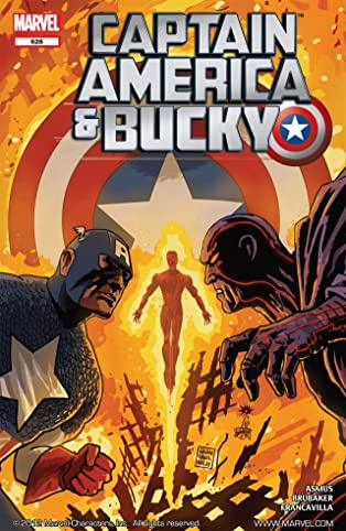 Captain America and Bucky #628