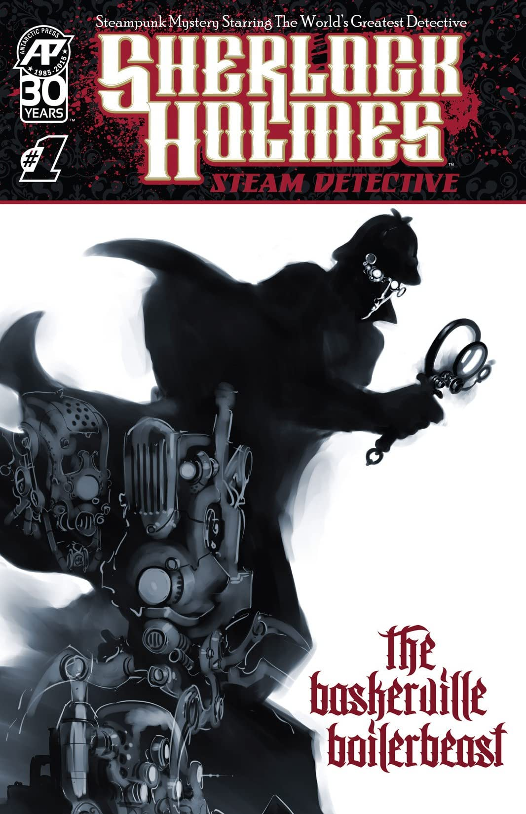 Sherlock Holmes: Steam Detective - The Baskerville Boilerbeast #1