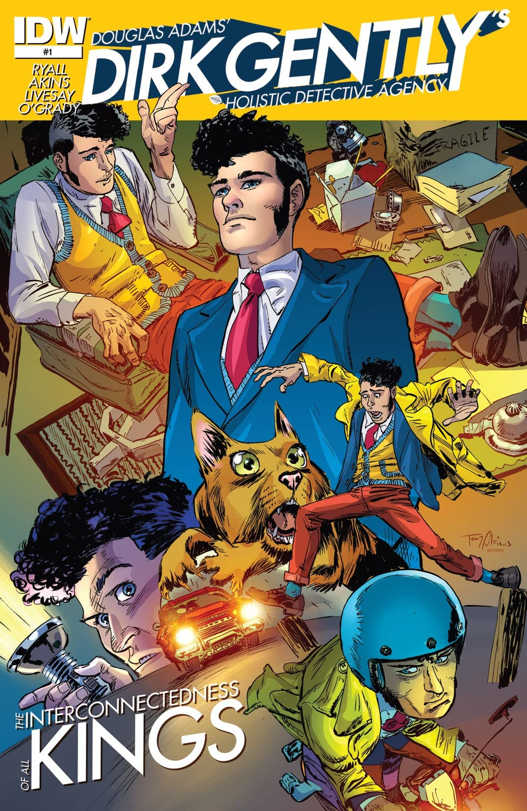 Dirk Gently's Holistic Detective Agency #1 (of 5)