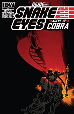 G.I. Joe: Snake Eyes, Agent of Cobra #5 (of 5)