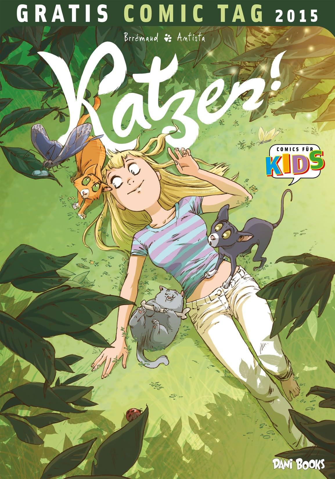 Katzen!: Gratis-Comic-Tag 2015