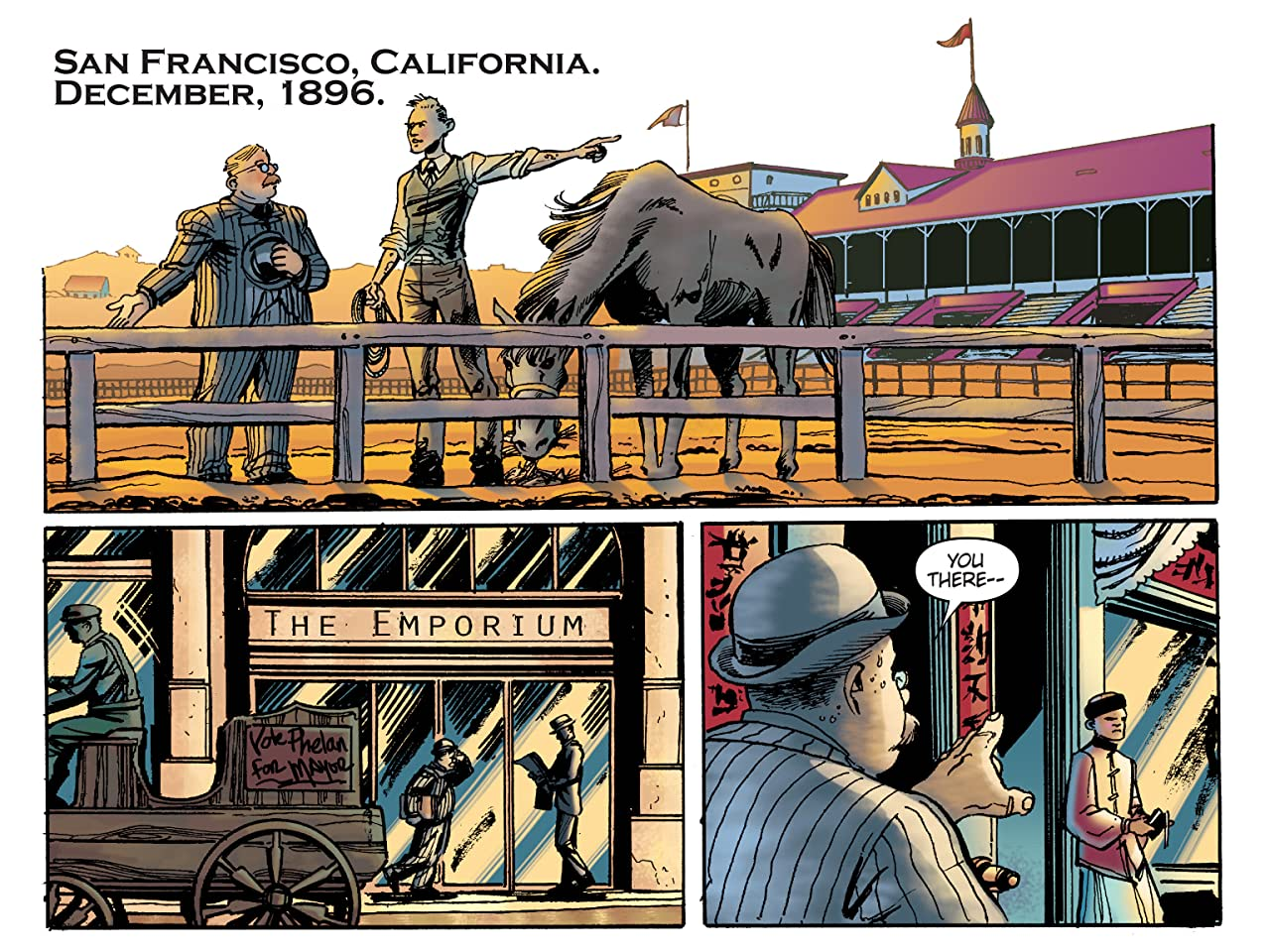 The Further Travels Of Wyatt Earp #2
