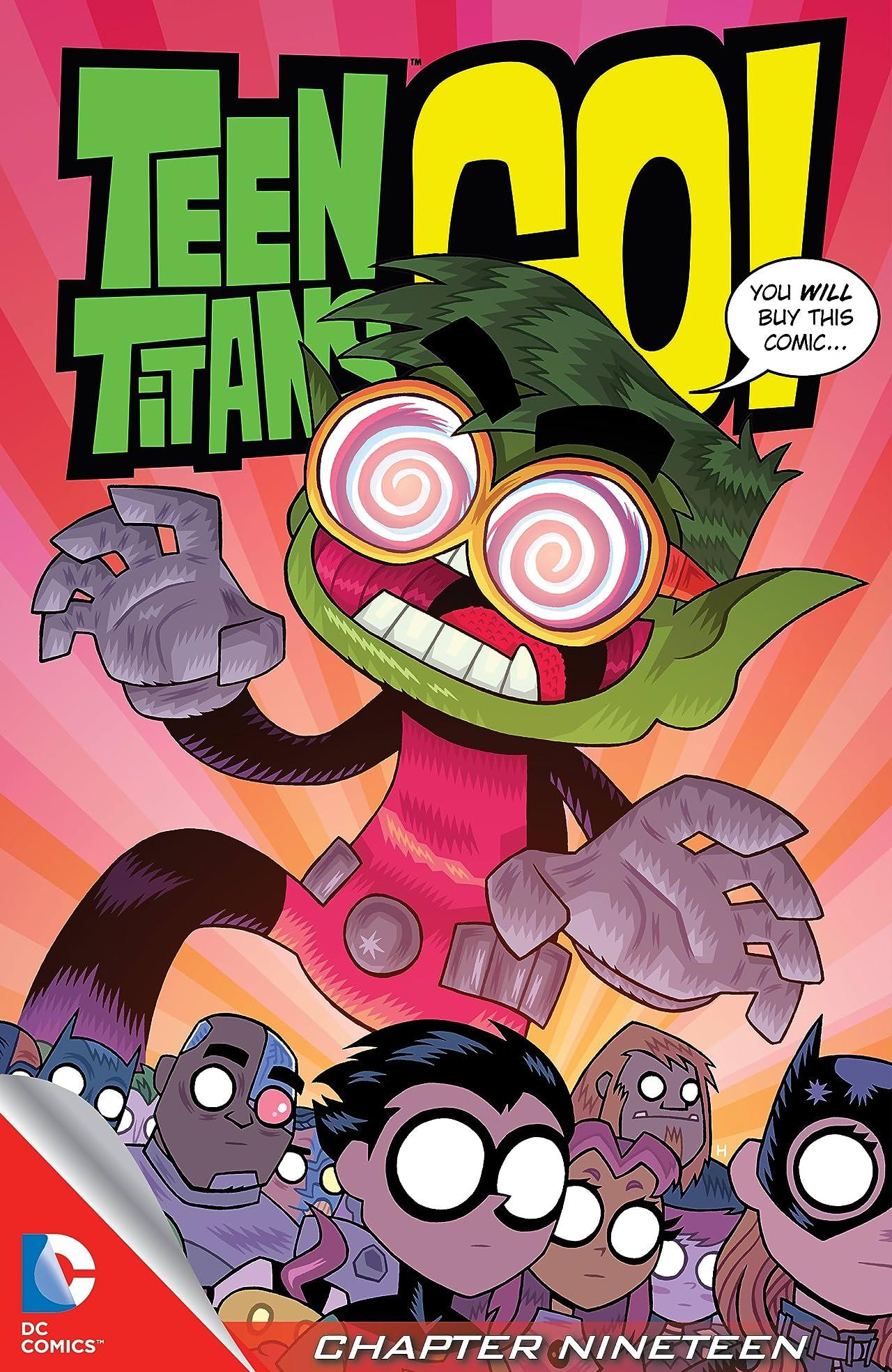 Teen Titans Go! (2013-) #19