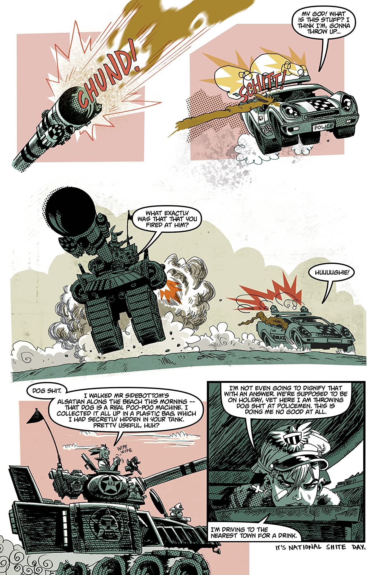 Tank Girl: Bad Wind Rising #1 (of 4)