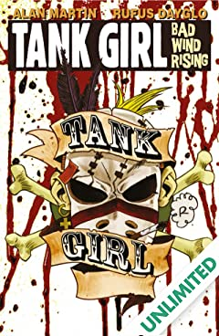 Tank Girl: Bad Wind Rising #4 (of 4)