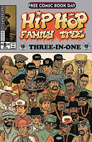 FCBD 2015: Hip Hop Family Tree 3-in-1