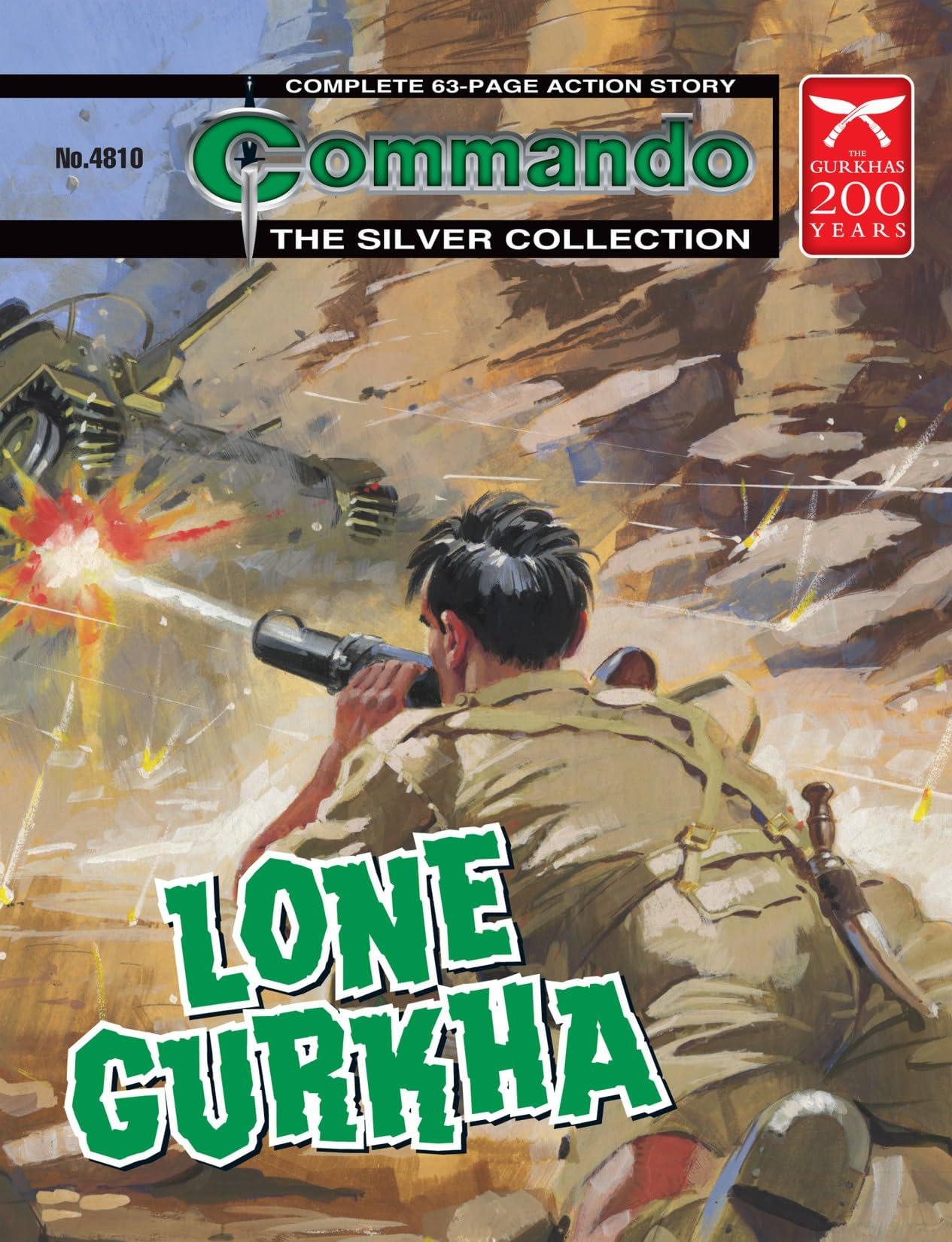 Commando #4810: Lone Gurkha