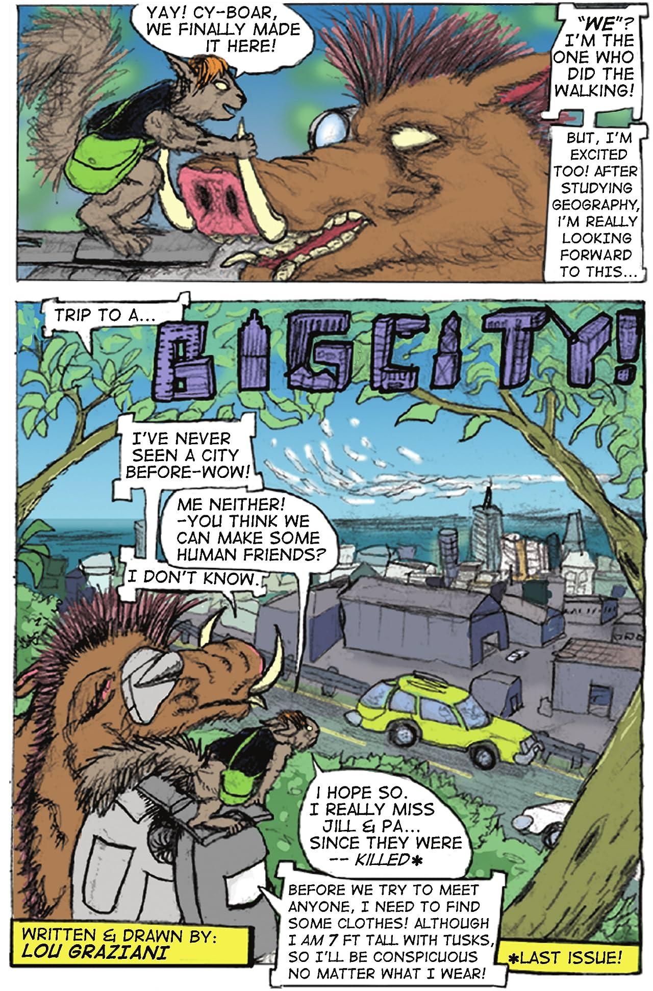 Cy-Boar #3: The Enforcer
