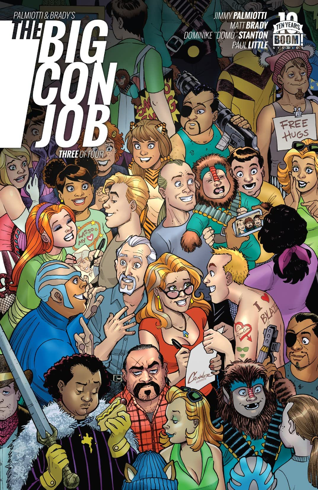Palmiotti and Brady's The Big Con Job #3 (of 4)