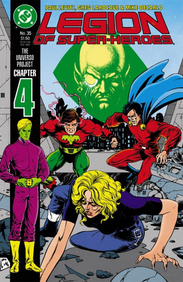 Legion of Super-Heroes (1984-1989) #35