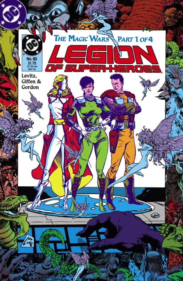 Legion of Super-Heroes (1984-1989) #60