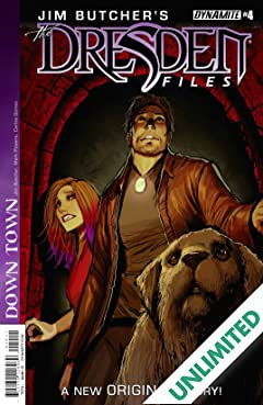 Jim Butcher's The Dresden Files: Down Town #4 (of 6): Digital Exclusive Edition