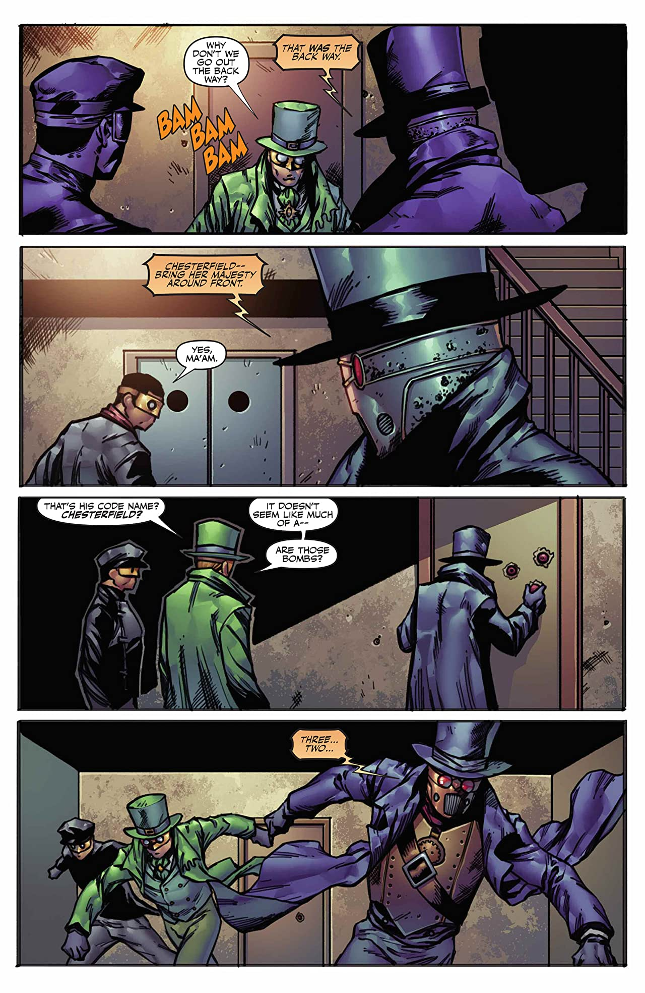 Legenderry: Green Hornet #4 (of 5): Digital Exclusive Edition