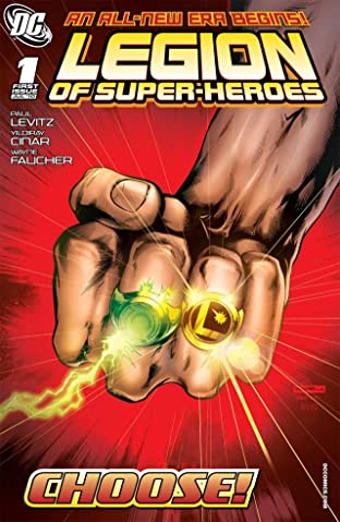 Legion of Super-Heroes (2010-2011) No.1