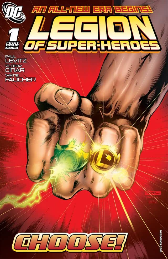 Legion of Super-Heroes (2010-2011) #1