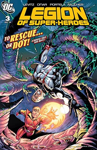 Legion of Super-Heroes (2010-2011) No.3