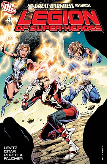 Legion of Super-Heroes (2010-2011) #4