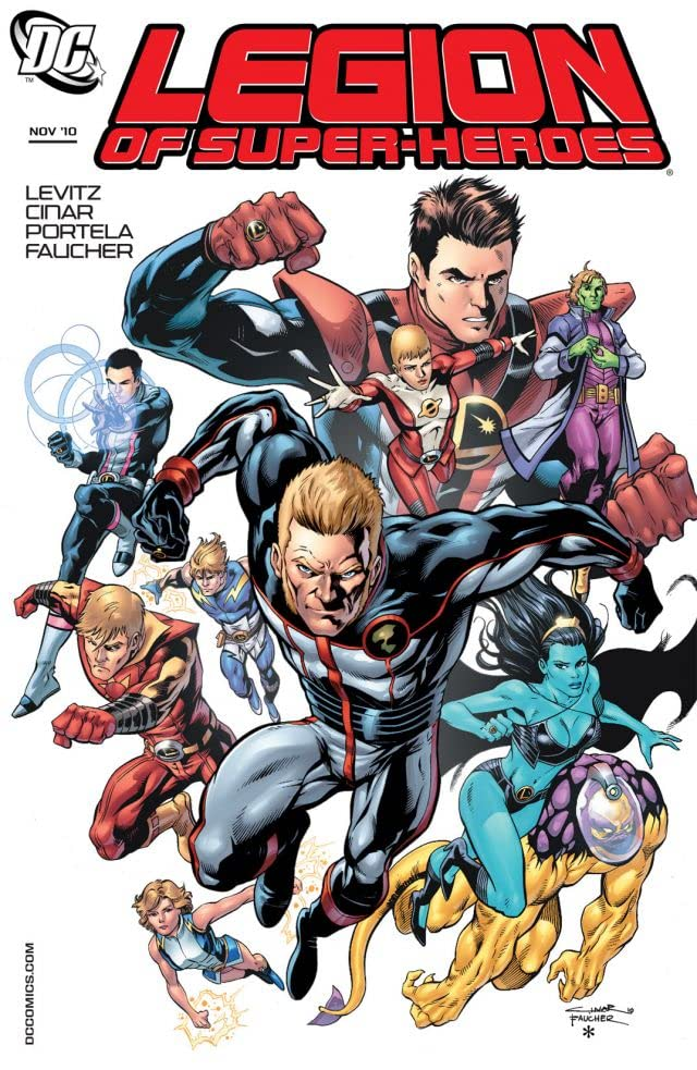 Legion of Super-Heroes (2010-2011) #5