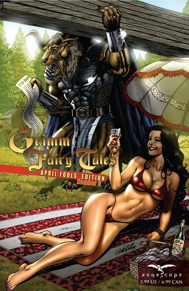 Grimm Fairy Tales #2: April Fools Edition