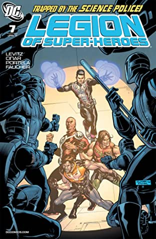 Legion of Super-Heroes (2010-2011) No.7