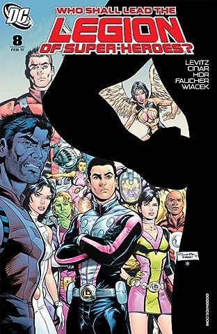 Legion of Super-Heroes (2010-2011) No.8