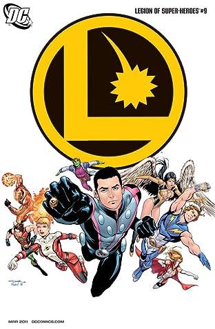 Legion of Super-Heroes (2010-2011) No.9