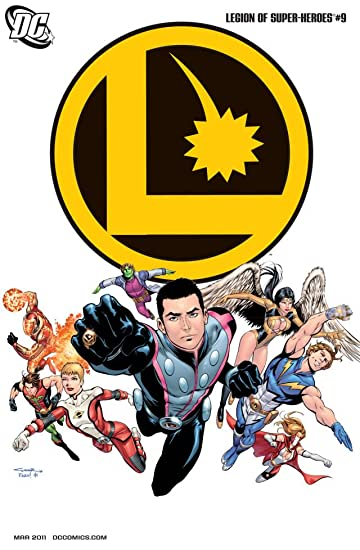 Legion of Super-Heroes (2010-2011) #9