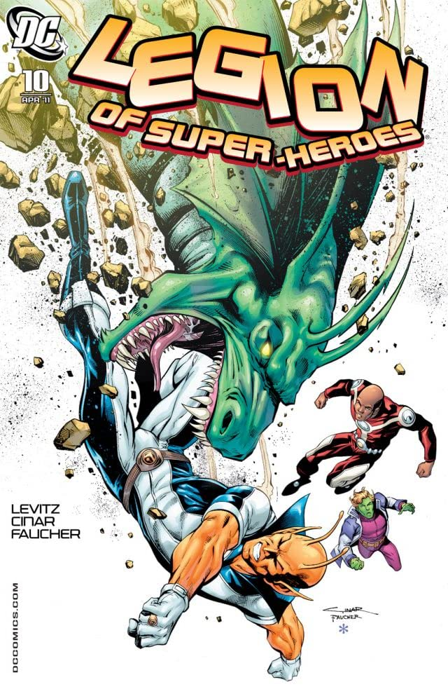 Legion of Super-Heroes (2010-2011) #10