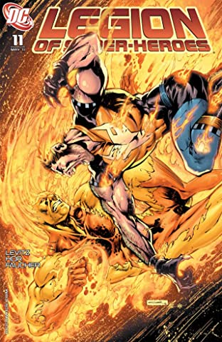 Legion of Super-Heroes (2010-2011) No.11