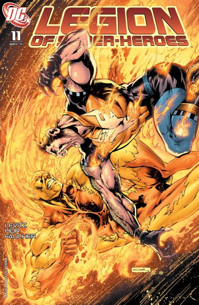 Legion of Super-Heroes (2010-2011) #11