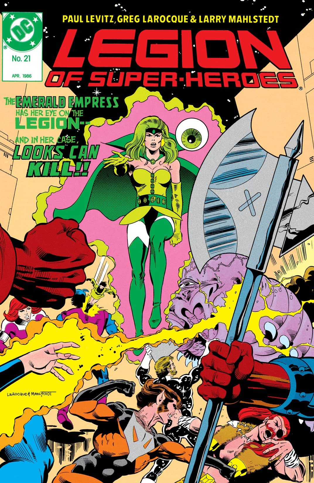 Legion of Super-Heroes (1984-1989) #21