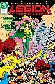 Legion of Super-Heroes (1984-1989) #21