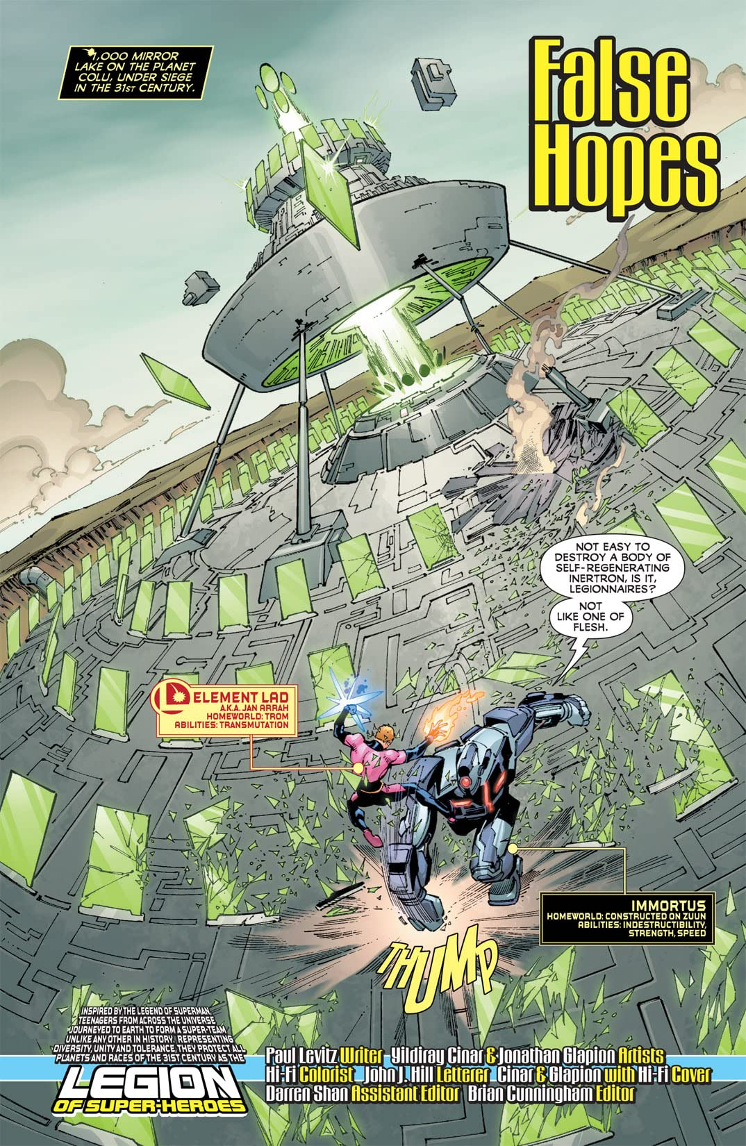 Legion of Super-Heroes (2010-2011) #13