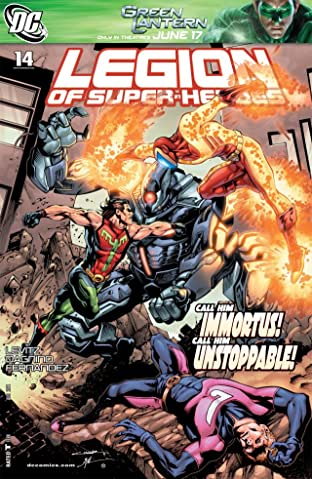 Legion of Super-Heroes (2010-2011) No.14